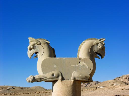 Le griffon double de Persépolis