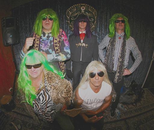 Le groupe des Psychotic Turnbuckles