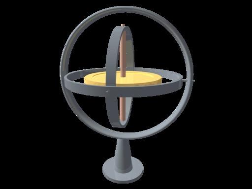 Le gyroscope de Foucault
