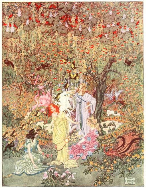 Le jardin du paradis d'Andersen en 1914 - 02