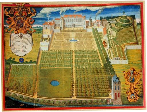 Le Jardin du roi en 1636