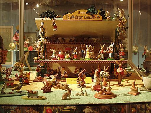 Le jouet des lapins de Pâques