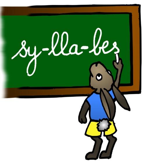 Le lapin au tableau du terrier d'Abulédu