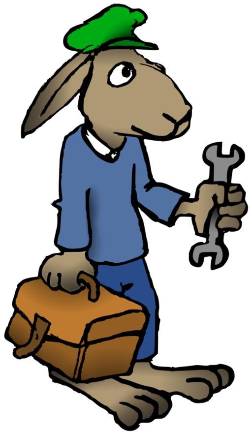 Le lapin mécanicien du terrier d'Abulédu