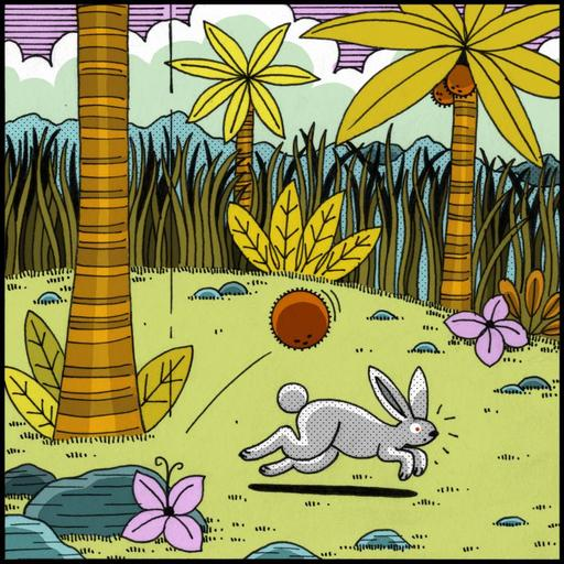 Le lapin timide 3