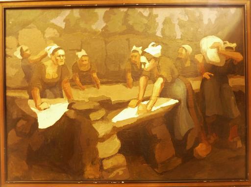 Le lavoir de Commana dans le Finistère