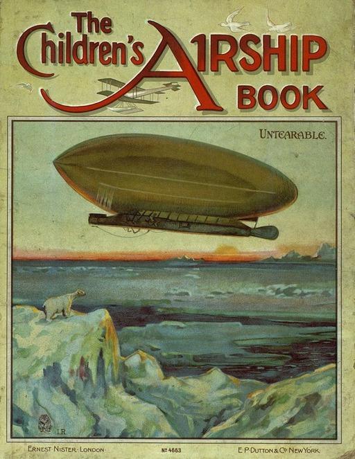 Le livre de l'aviation pour enfants en 1900