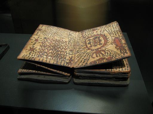 Le livre des sorciers Batak à Sumatra