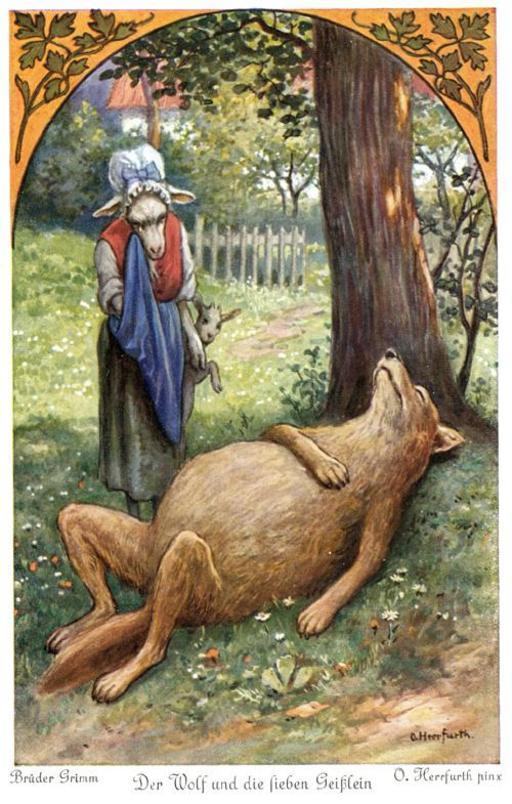 Le loup et les sept chevreaux - 4