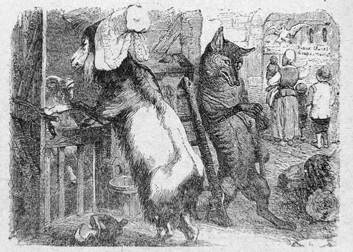 Le loup, la chèvre et le chevreau