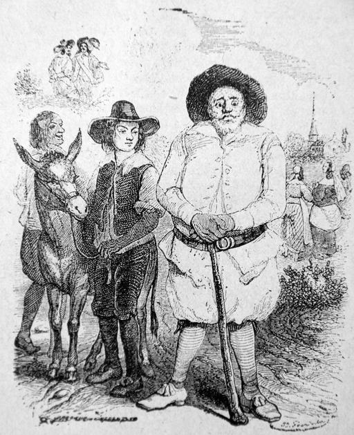 Le meunier, son fils et l'âne