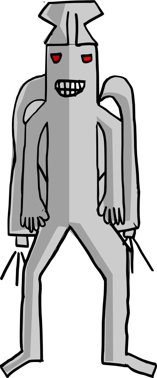Le monstre de Léandre