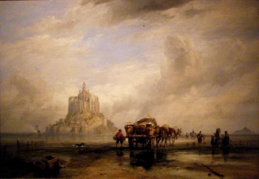 Le Mont Saint-Michel en 1831