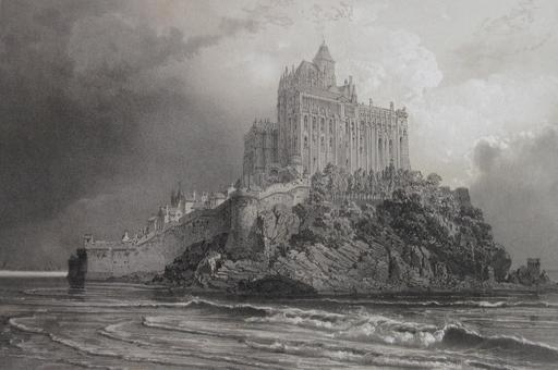 Le Mont-Saint-Michel en 1923