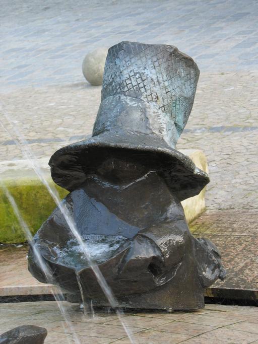 Le nain collecteur d'eau