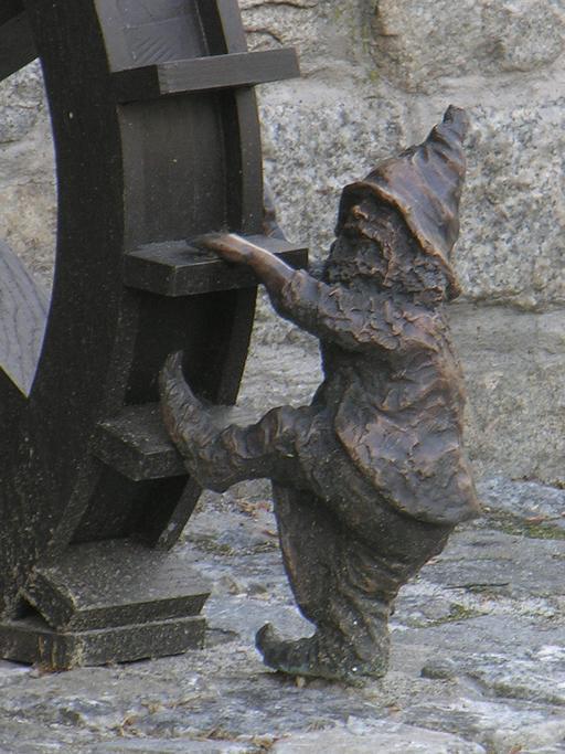 Le nain meunier de Wroclaw