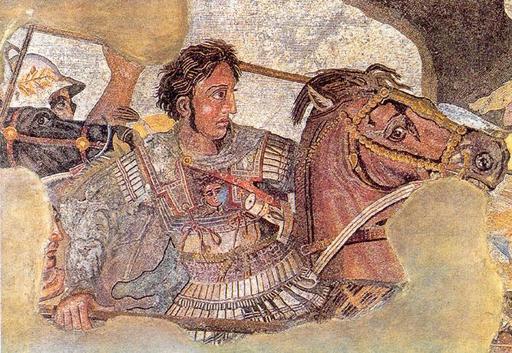 Le nez grec d'Alexandre
