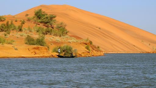 Le Niger à Koïma au Mali