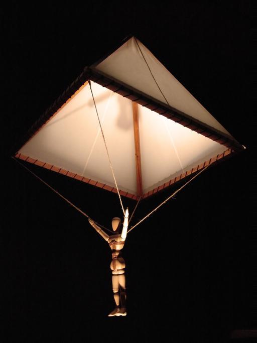 Le parachute de Leonardo da Vinci