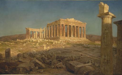 Le Parthénon en 1871