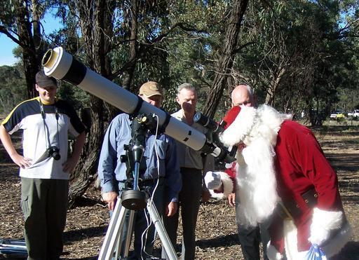 Le Père Noël astronome