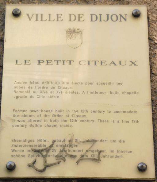 Le Petit Citeaux à Dijon