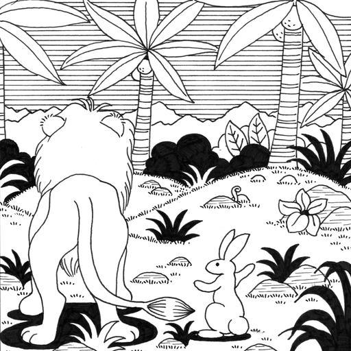 Le petit lapin timide et pas malin, 21