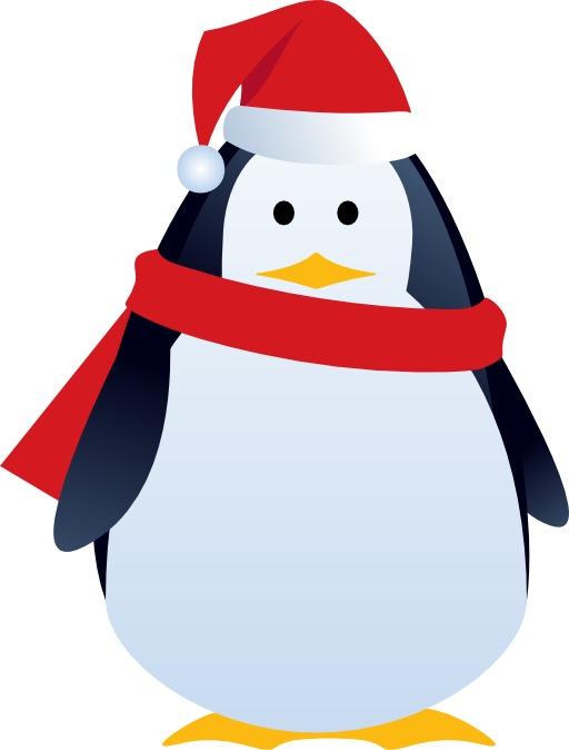 Le pingouin de Noël