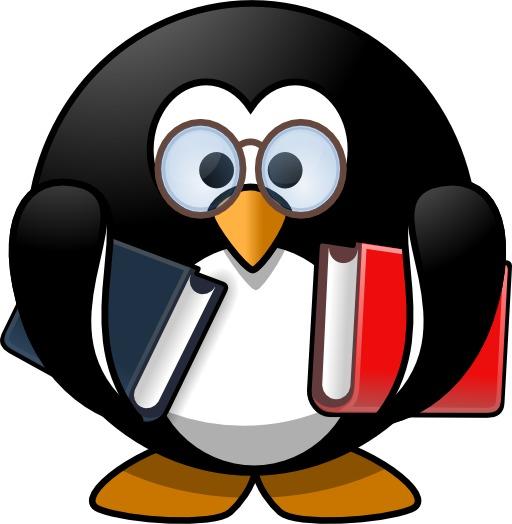 Le pingouin studieux