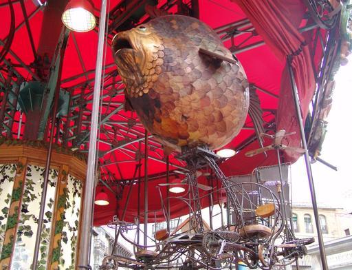 Le poisson-globe du Manège d'Andrea