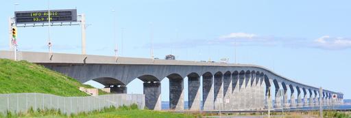 Le Pont de la Confédération au Canada