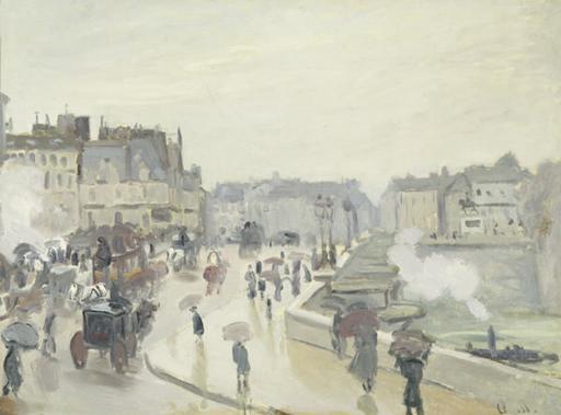 Le Pont Neuf à Paris en 1873