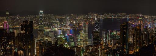 Le port de Victoria à Hong Kong