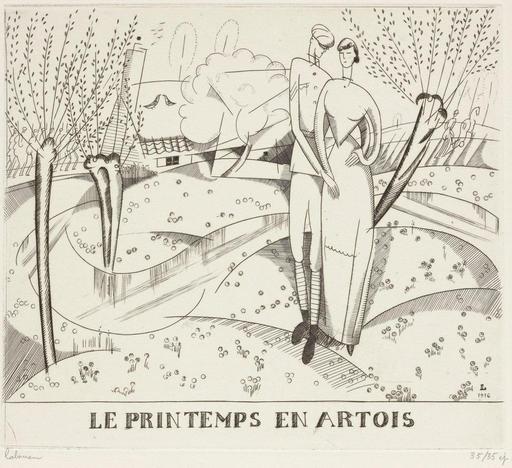 Le printemps en Artois en 1916