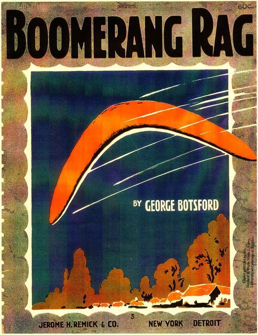 Le rag du Boomerang en 1916