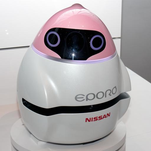 Le robot japonais Nissan Eporo en 2015