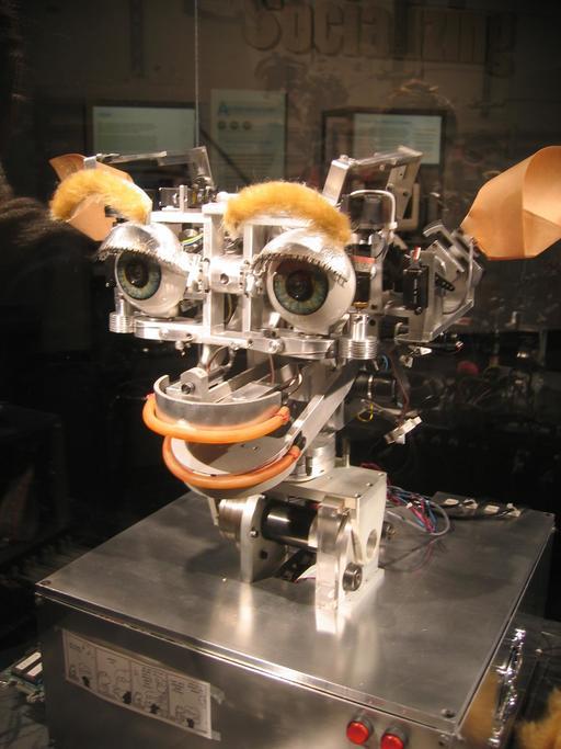 Le robot Kismet en 2005