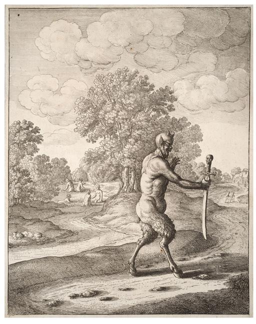 Le satyre et l'épée