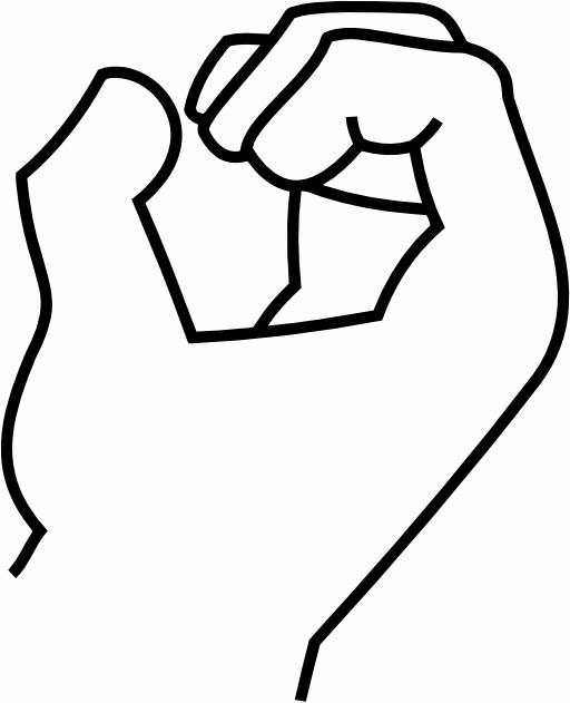 Le signe 0 avec la main