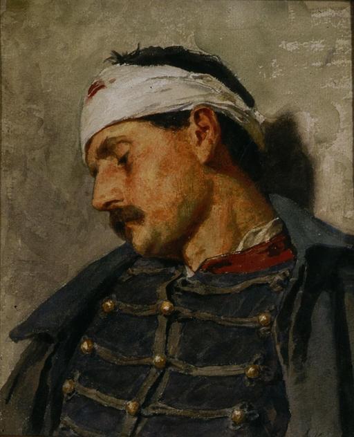 Le soldat blessé