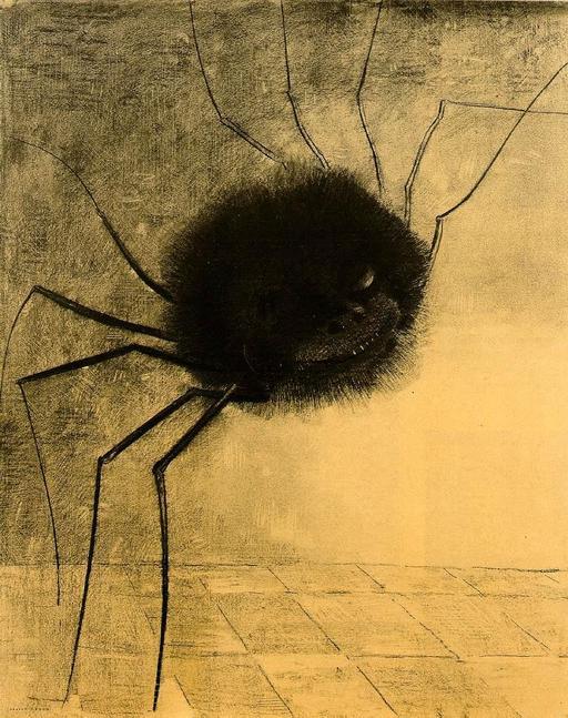 Le sourire de l'araignée à dix pattes