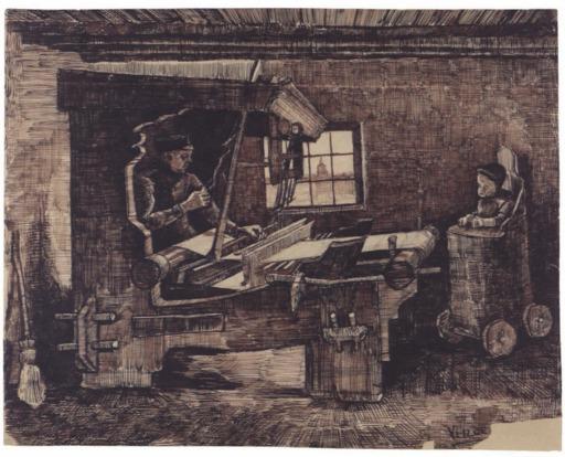 Le tisserand de Neunen et le bébé en 1884