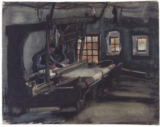 Le tisserand de Nuenen en 1884
