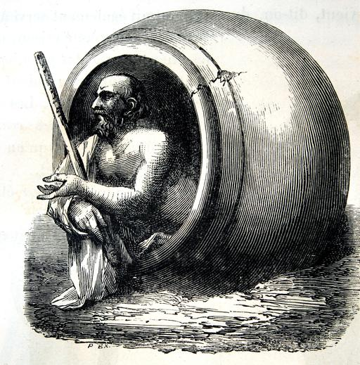 Le tonneau de Diogène