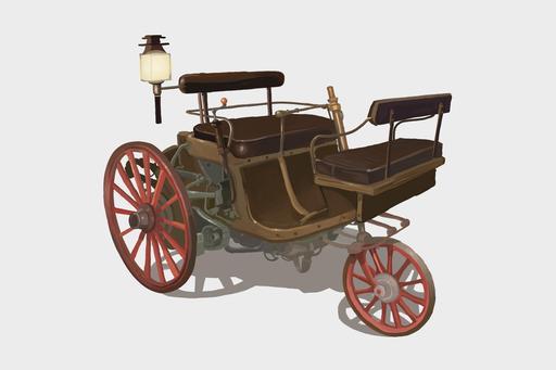 Le tricycle à vapeur Serpollet en 1888