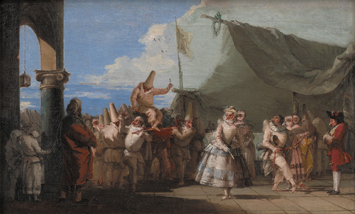 Le triomphe des Pulcinellas