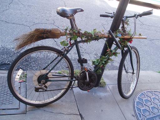 Le vélo balai