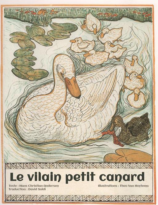 Le vilain petit canard, couverture