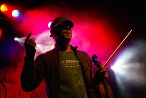 Le violoniste polonais Adam Romański en concert