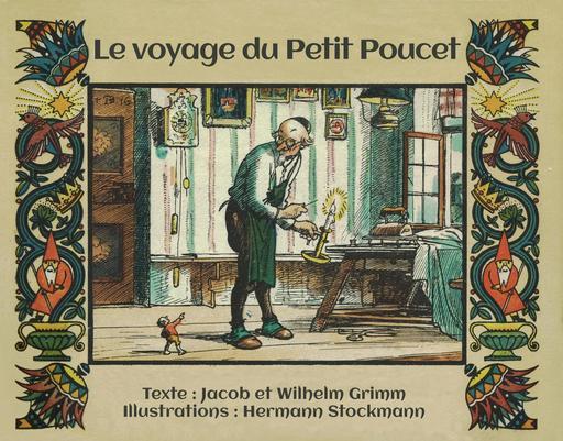 Le voyage du Petit Poucet - couverture en français